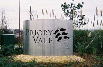 Three dimensional Entrance sign