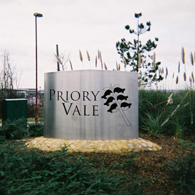 Three dimensional Entrance sign