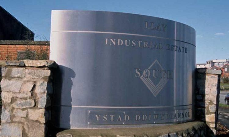 Llay Industrial Estate 1.5 m x 3 metres