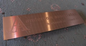 Unpainted etched Bronze
