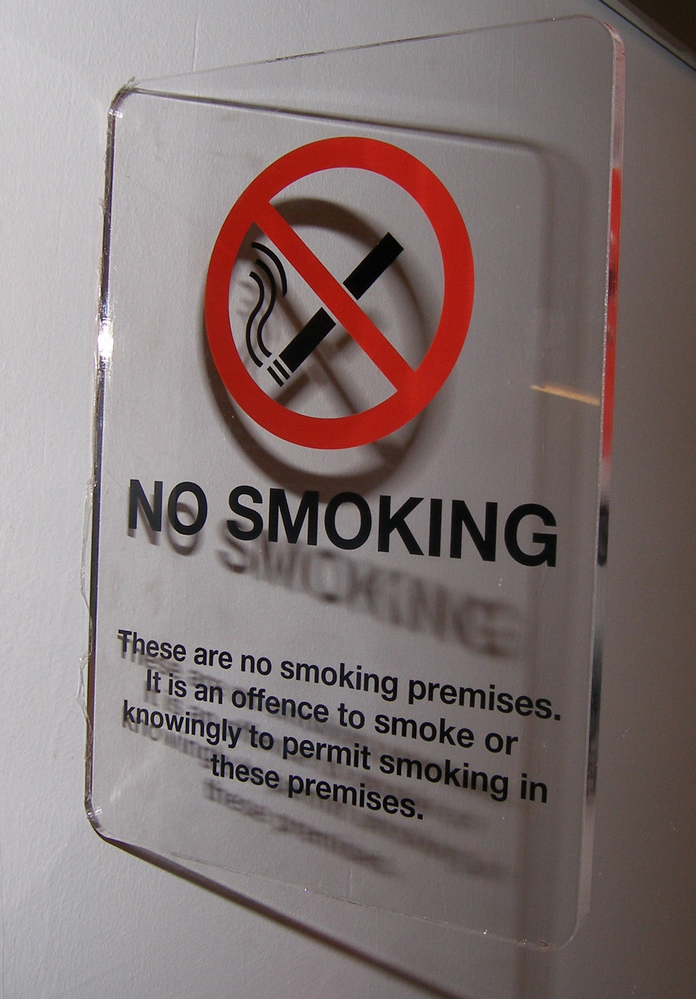 Perspex No Smoking Signs Sign Industries