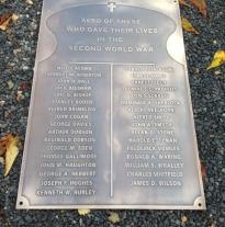 3ft x 2ft Bronze memorial
