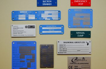 Engineering labels