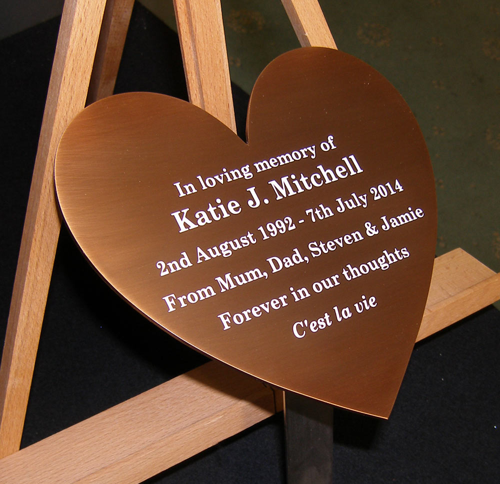 bronze memorial plaque sign industries. Black Bedroom Furniture Sets. Home Design Ideas