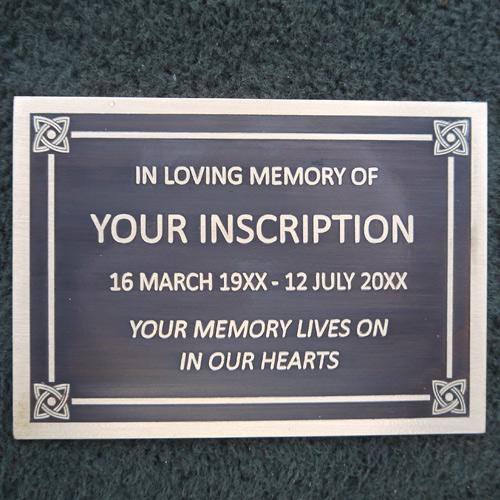 Bronze Memorial Plaque Sign Industries