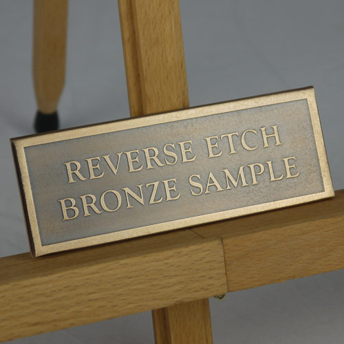 bronze-house sign-sample