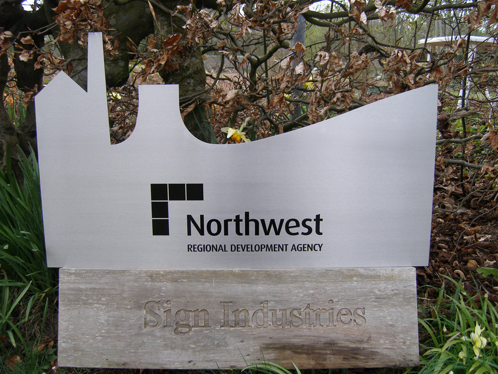 House sign ideas - Laser cut steel sign