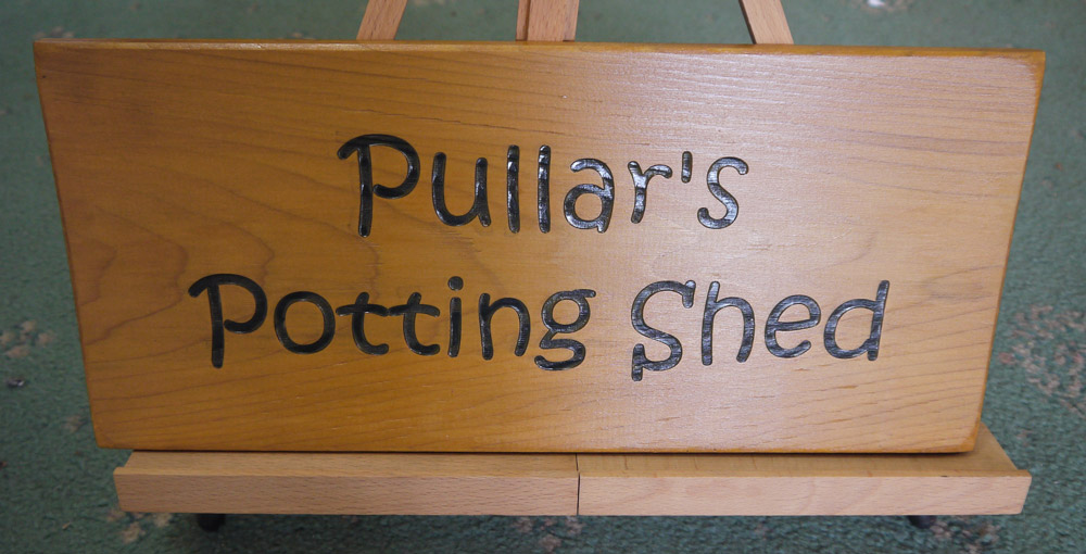 House sign ideas - laser engraved wood