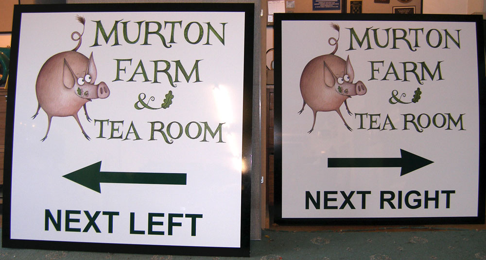 Farm Signs, Wayfinding and Estate Signs